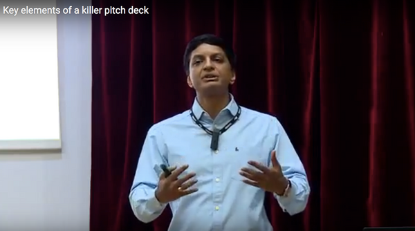 Key elements of an investor pitch deck